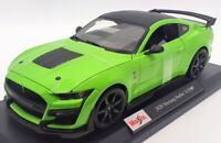 Maisto 1/18 Scale Model Car 46629 - 2020 Mustang Shelby GT500 - Green