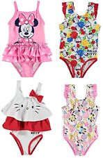 ✅ DISNEY Minnie Mouse Maus Hello Kitty Baby Mädchen Badeanzug Bademode Schwimm