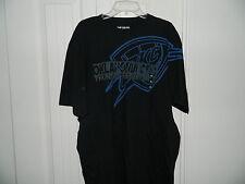 Team Oklahoma City Thunder NBA Adidas The Go To Tee Shirt Black Mens XL NWT
