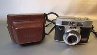 Kodak Automatic 35F Camera Ektanar 44mm f/2.8 Lens with original case