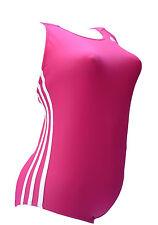 Adidas  Infinitex I 3S  1 PC  Badeanzug / Schwimmer  rosa  pink  weiss   34  Neu