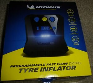 MICHELIN TYRE INFLATOR Programmable Fast Flow Digital High Power Rapid NEW 12266