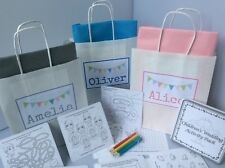 PERSONALISED CHILDREN'S WEDDING ACTIVITY BAG - complete with activity pack