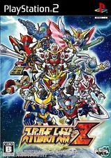Used PS2 Super Robot Taisen Z SONY PLAYSTATION JAPAN IMPORT