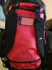 THE NORTH FACE TNF Base Camp Duffel T93ETOKZ3 Waterproof Travel Bag 50 L Red
