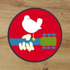 Woodstock 1969 Premium 3x3 Sticker Decal Music Festival Peace Dove Free Shipping