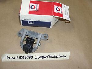 **NOS** DELCO GM ENGINE CRANKSHAFT POSITION SENSOR #25535481