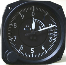 Remanufactured Sensitive Three Pointer Altimeter 6,000 Meter, Millibars