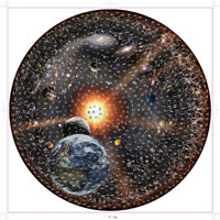 1000 Pieces Space Jigsaw Round Puzzle Earth Boys DIY Kids Toy Adult Gift USA