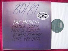 Pat Metheny - 80 / 81    D-LP im Top Zu