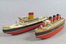 H 45732 Zwei interessante Blechschiffe aus Nürnberger Produktion