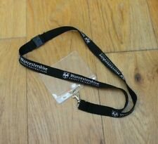 Brand New Black WORCESTERSHIRE COUNTY CRICKET CLUB Lanyard