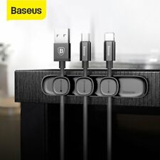Baseus Cable Clips Management Holder Tidy Cord Wire Line Organizer Self-Adhesive