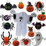 Halloween Paper Pumpkin Ghost Spider Bat Lantern Hanging Decor Party Supplies
