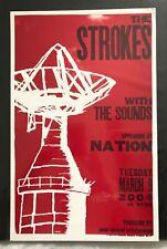 The Strokes Hatch Show Print Concert Poster @ Nation, Washington, Dc 2004 - Rare