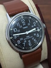 VINTAGE MENS 1988 TIMEX MILITARY STYLE WATCH VERY NICE JUST SERVICED