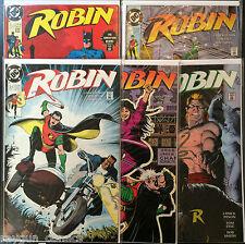 Robin III #1-6 Juego VF+ 1º DIBUJO DC Comics
