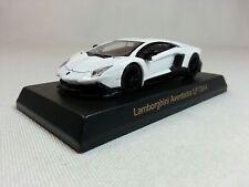 1:64 Lamborghini Aventador LP720-4 White OEM by Kyosho