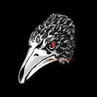 Indian Tribal Eagle Men/'s Biker Heavy Rings Stainless Steel Indian Art Hawk Ring