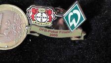 Fussball Pin Badge Bayer Leverkusen Werder Bremen DFB Pokal Finale 2009