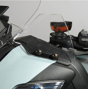 """Wind deflector -smoked gray- BMW R1200RT - from 2010-06/2014  """"SP8403FC"""""""