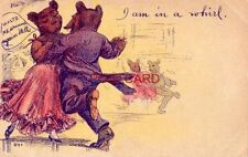 """1909 I AM IN A WHIRL - Dancing Bears - """"Waltz me around again, Willie"""""""