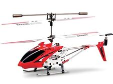Syma S107 RC Mini Helicopter with Gyro - Red