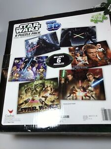 Star Wars Super 3D 6 Puzzle Pack Includes 6 Puzzles 5 of 6 in Original Package