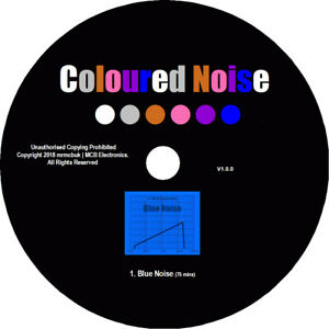 Blue Noise Test Tones CD - Relaxation Meditation Background Block Out Tinitus