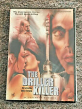 The Driller Killer (DVD, Cult Epics, Widescreen Version, 1979 Abel Ferrara) NEW