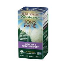 Host Defense Lion's Mane Mushroom 120 Capsules