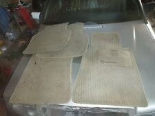 MERCEDES-BENZ W201 190E 190 1.8 2.0 2.3 2.6 GENUINE BEIGE CREAM FLOOR MATS