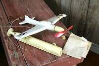Vintage REMCO Falcon Styrofoam Airplane Battery Operated Toy