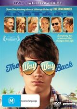 THE WAY WAY BACK DVD=INC ULTRAVIOLET=STEVE CARELL=REGION 4=NEW AND SEALED