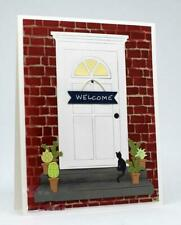 Tür und Fenster Metall Stencil Cutting Dies Scrapbooking Stanzschablone Handwerk