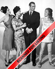 JAMES BOND 007 women of DR. NO GIRLS with SEAN CONNERY 8X10 PHOTO #7123