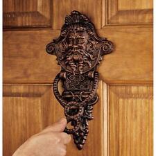 Sp1328 - Winthrop Manor Greenman Authentic Foundry Iron Door Knockers
