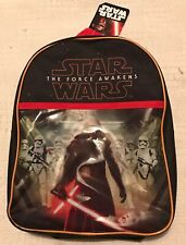 BNWT Disney Star Wars The Force Awakens Boys Back Pack