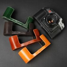 Leather Half Case for Leica R8 or R9 (choice of colours) - BRAND NEW