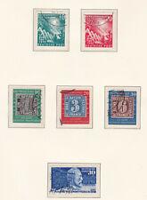 Brd Sammlung 1949-85 gestempelt komplett mit Heuss lieg.WZ und lumogen gepr.