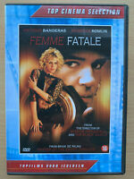 Antonio Banderas Femme Fatale ~ 2002 Brian de Palma Noir Novela Suspense Dutch