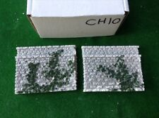 N scale, N gauge   abutments Set - *twin  Track'  Painted Foliage Detail