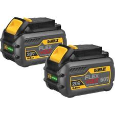 (2-PACK) DeWalt Flexvolt 20V/60V MAX Li-Ion Tool Battery DCB606