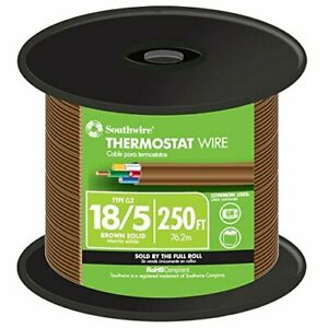 Southwire 64169644 Thermostat Wire Brown