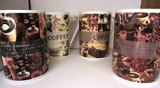 Kaffeebecher Kaffee Tasse Kaffeetassen  feines Porzellan 4 vers. Motive 48 Stück