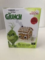 NEW Dr. Seuss The Grinch Gingerbread Who-Ville House kit SHIP N 24 HRS