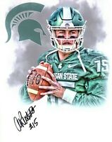 Anthony Russo Michigan State football QB signed autographed 8x10 photo edit MSU!