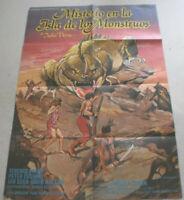 Filmplakat,MISTERIO EN LA ISLA DE LOS MONSTRUOS,TERENCE STAMP,PETER CUSHING#19