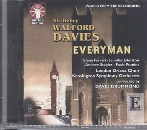 SIR HENRY WALFORD DAVIES: Everyman CD 078