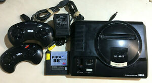 Sega Megadrive Console with 2 Official Controllers with FIFA 96